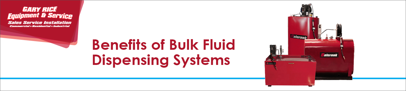 Benefits of Bulk Fluid Dispensing Systems
